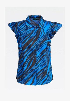 Overhemdblouse - mehrfarbig, grundton blau