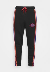 Jordan - PANT - Tracksuit bottoms - black/deep royal blue/track red