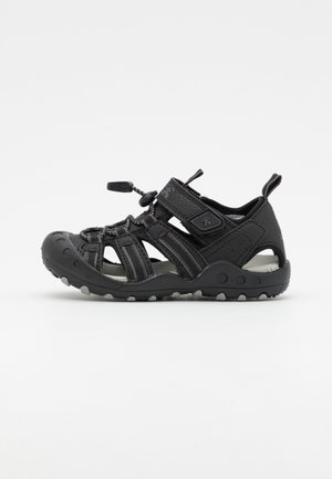 CRAB UNISEX - Walking sandals - black