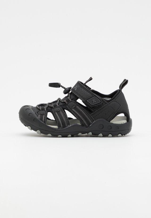 CRAB UNISEX - Chodecké sandály - black