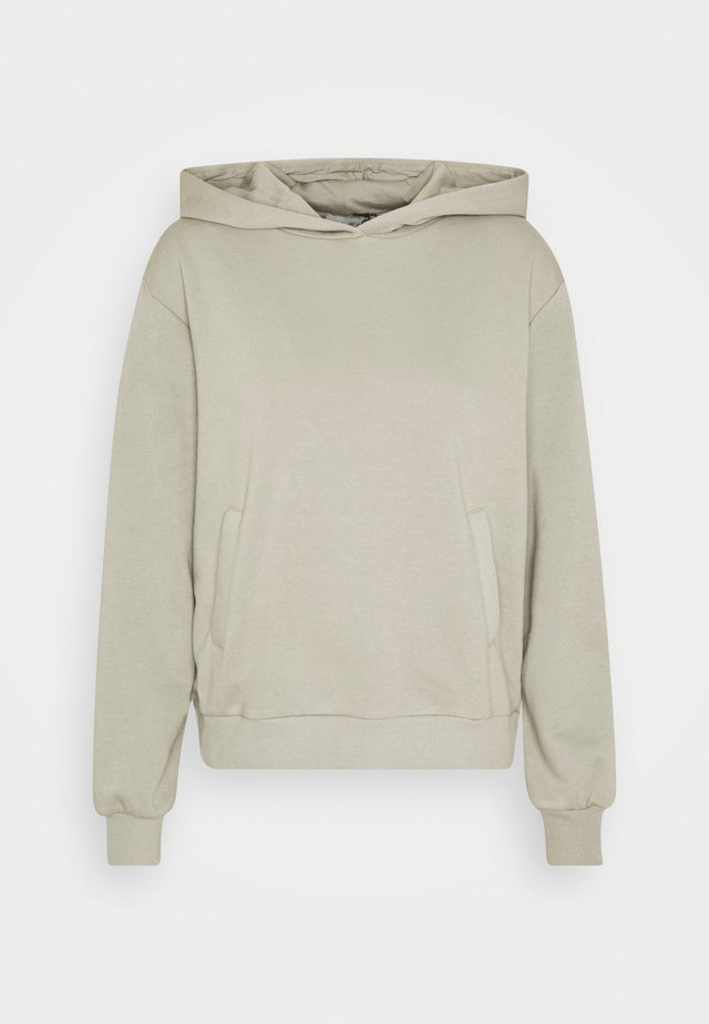 POCKET DETAIL HOODIE - Hoodie - grey