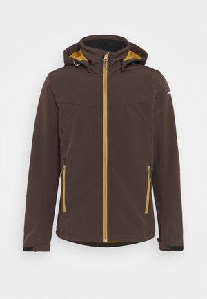 BRIMFIELD - Soft shell jacket - dark brown