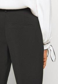 ONLY - ONLVILDA ASTRID CIGARETTE PANT - Trousers - black - 3