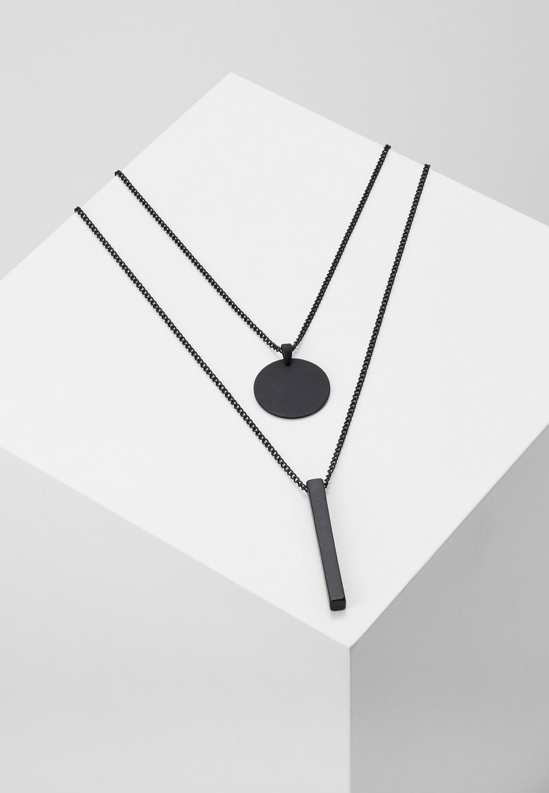 Burton Menswear London - LAYERED  - Necklace - black