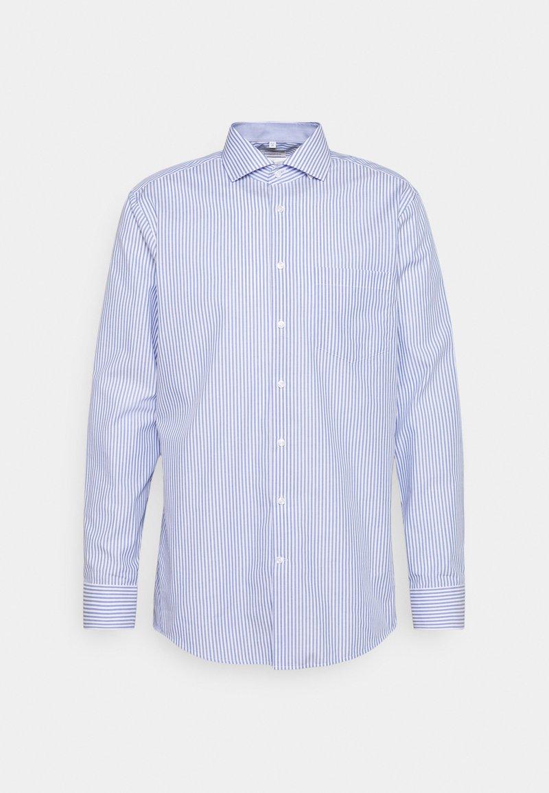 Seidensticker - SPREAD KENT PATCH  - Formal shirt - blue