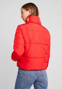 JDY - Winter jacket - goji berry - 2