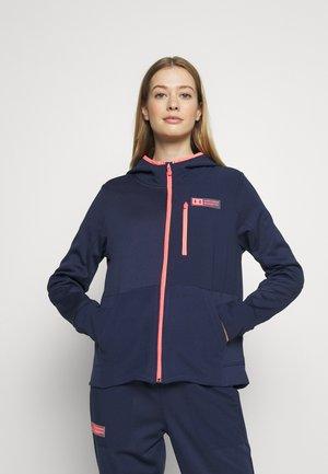 MIXED MEDIA - Fleece jacket - blue