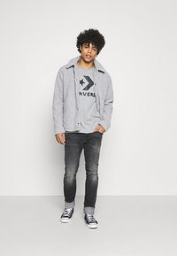 Replay - ANBASS AGED  - Straight leg jeans - dark grey - 1