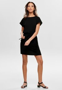 ONLY - ONLMARIANA MYRINA DRESS - Freizeitkleid - black - 1