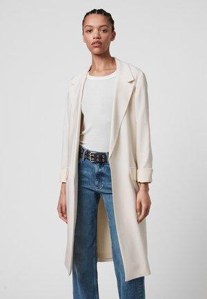 ALEIDA DUSTER - Short coat - white