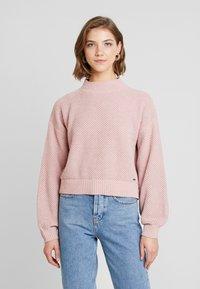 Hollister Co. - MATTE MOCK - Pullover - light pink - 0