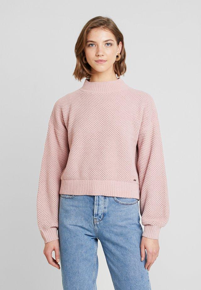 MATTE MOCK - Pullover - light pink