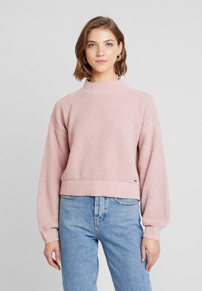 Hollister Co. - MATTE MOCK - Pullover - light pink