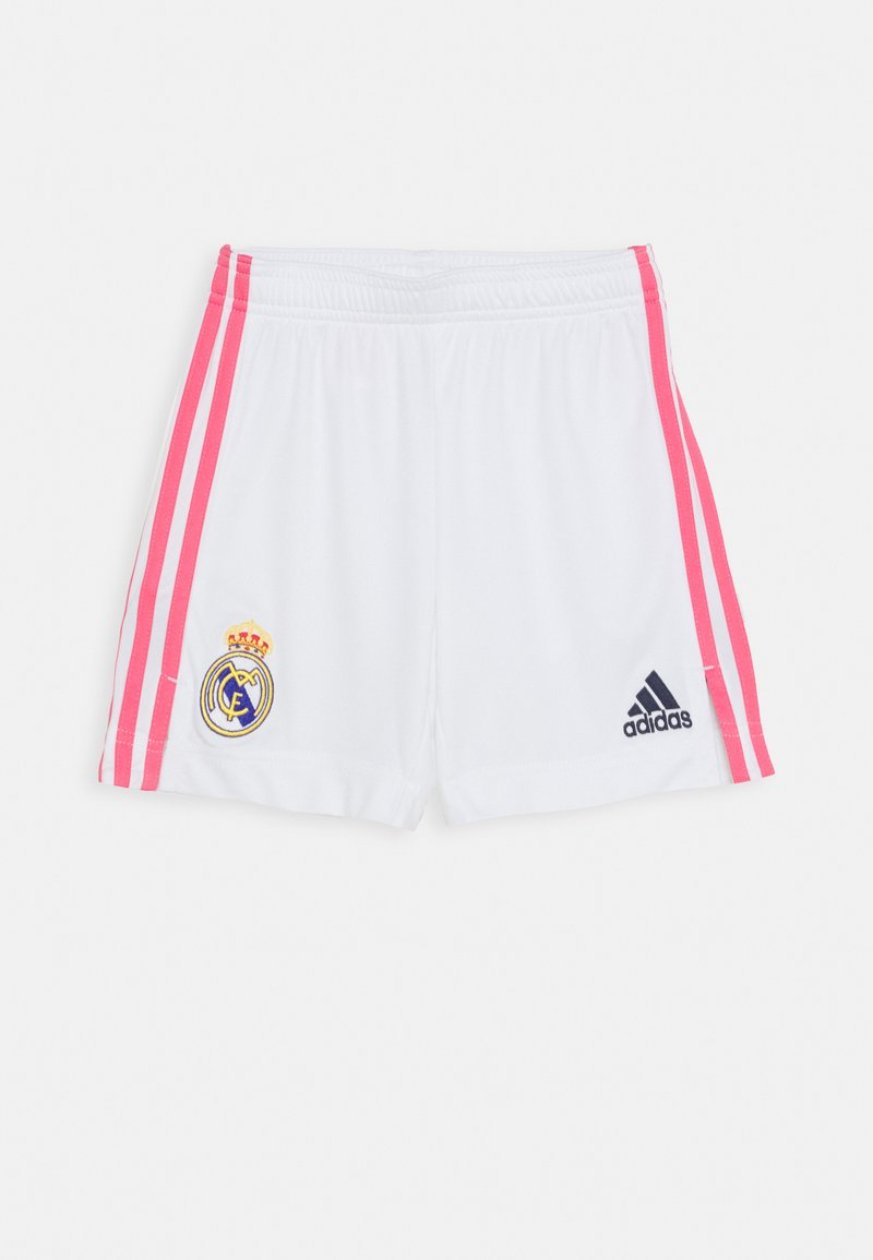 adidas Performance - REAL MADRID AEROREADY FOOTBALL SHORTS UNISEX - Sports shorts - white