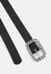 Even&Odd - Belt - black/silver-coloured - 1