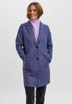LONG - Short coat - navy