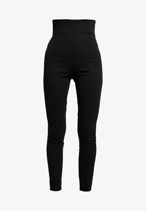 SHAPE HIGH WAIST PANT - Broek - black