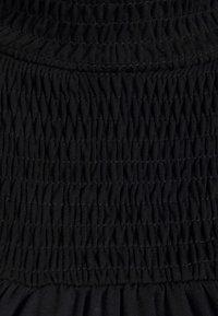 Dorothy Perkins Maternity - SHIRRED YOKE DRESS - Jersey dress - black - 5