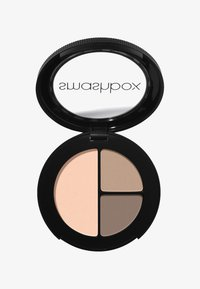 Smashbox - PHOTO EDIT EYE SHADOW TRIO 3,2 G - Eyeshadow palette - 8fa6e, be9f8c, f9d0ba nudie pic fair - 0