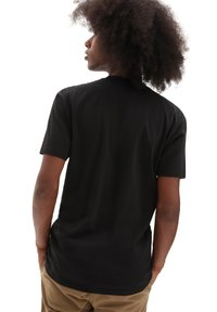 Vans - MN BLOOMING SS - T-shirt med print - black - 2