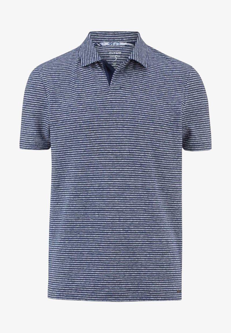 OLYMP - Polo shirt - rauchblau