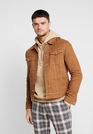 Džínová bunda - brown