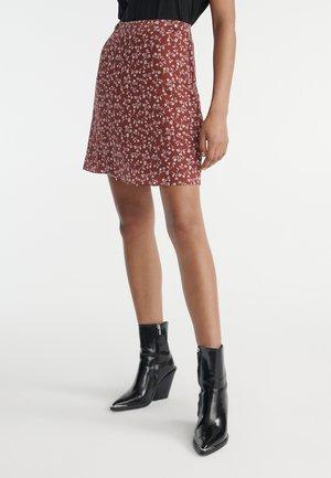 JUPE - Mini skirt - burgundy