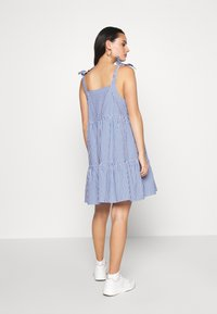 Monki - THELMA SUMMER DRESS - Kjole - blue medium - 2