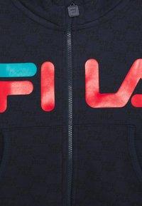 Fila - ANTONIO TRACK JACKET - Zip-up hoodie - black iris/capri breeze - 2