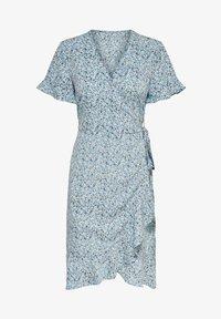 ONLY - ONLOLIVIA  - Robe d'été - dusk blue - 4