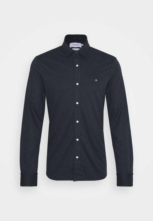 Calvin Klein SLIM FIT - Koszula - blue/granatowy Odzież Męska ALPF