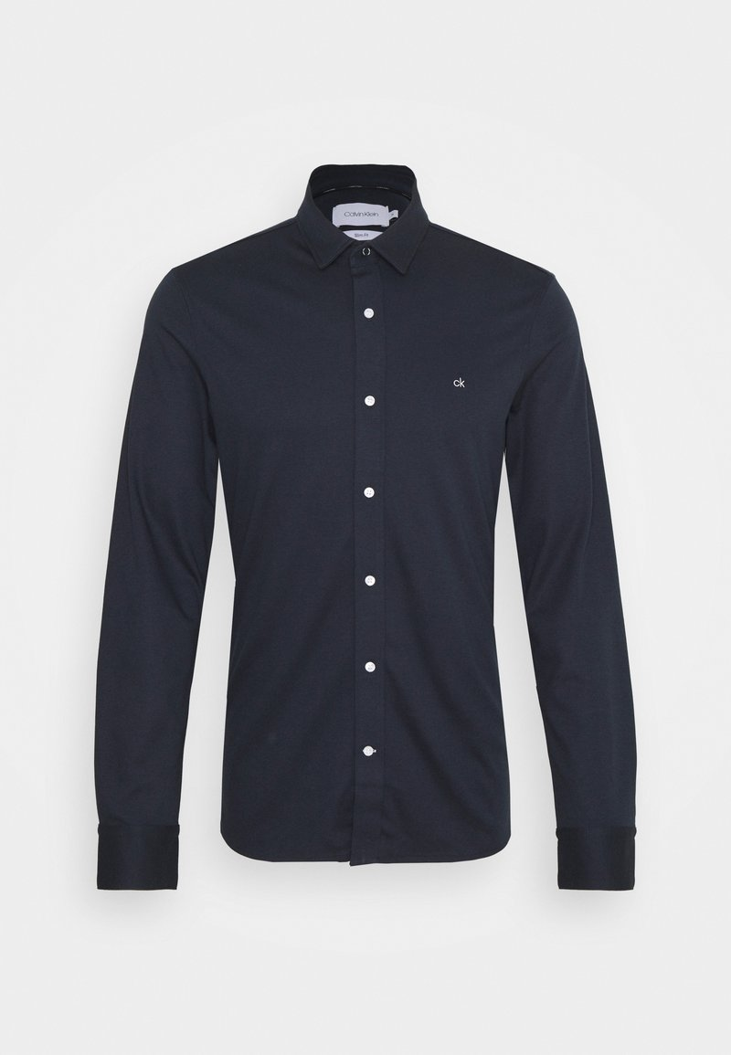 Calvin Klein - SLIM FIT  - Shirt - blue