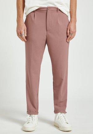Trousers - bordeaux