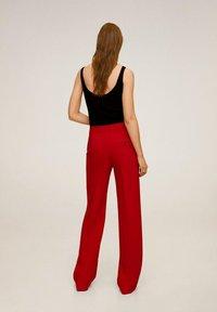 Mango - SIMON-I - Pantalon classique - rood - 2