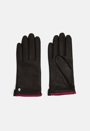 BRIGHTON - Gloves - black/pink