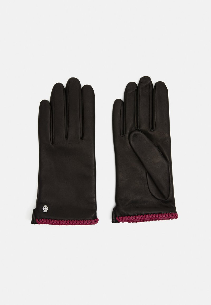 Roeckl - BRIGHTON - Gloves - black/pink