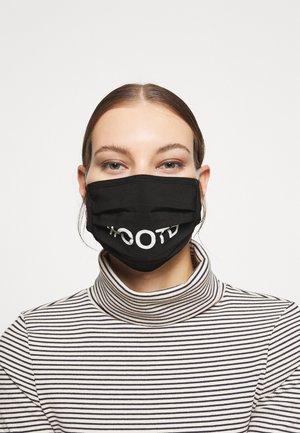 OOTD FACE MASK UNISEX 2 PACK - Community mask - white/black