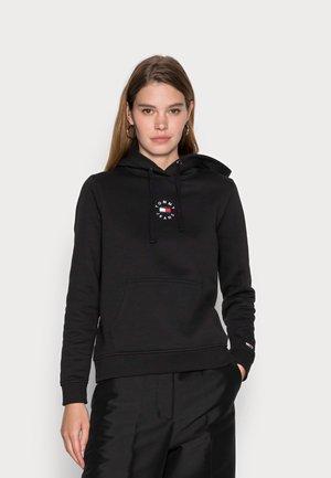 TINY TOMMY HOODIE - Sweatshirt - black