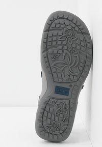 Skechers Wide Fit - REGGAE SLIM - Sandals - navy - 6