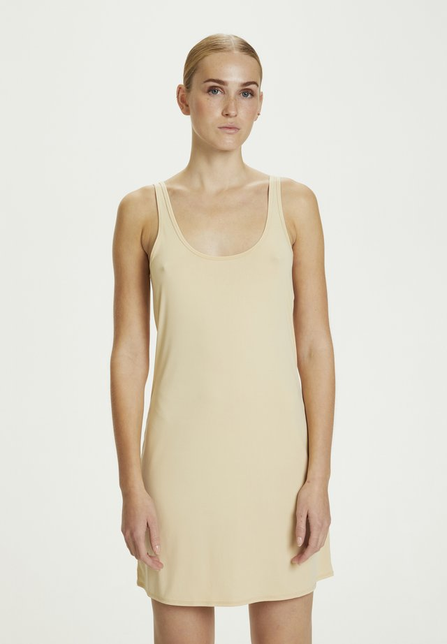 AIPERKB - Day dress - soft nude