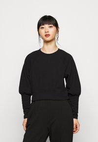 Pieces Petite - PCROSAN - Long sleeved top - black - 0