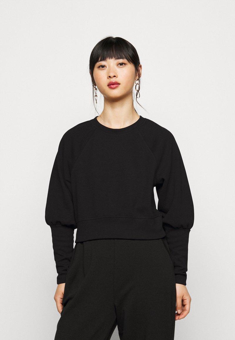Pieces Petite - PCROSAN - Long sleeved top - black