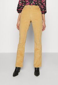 Levi's® - HIGH RISE BOOTCUT - Trousers - iced coffee - 0