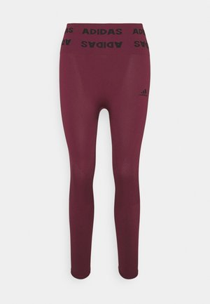 AEROKNIT 7/8 T TRAINING WORKOUT DESIGNED4TRAINING PRIMEGREEN LEGGINGS FITTED - Collant - victory crimson