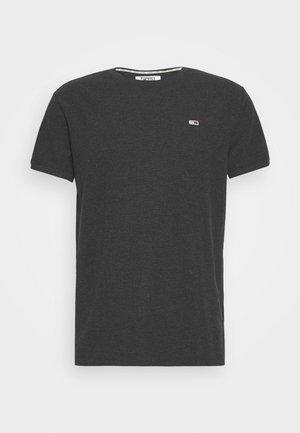 MINI WAFFLE TEE - T-shirt basic - black heather