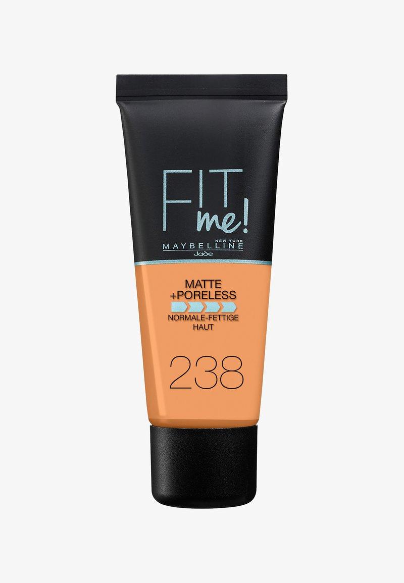 Maybelline New York - FIT ME MATTE & PORELESS MAKE-UP - Foundation - 238 rich tan