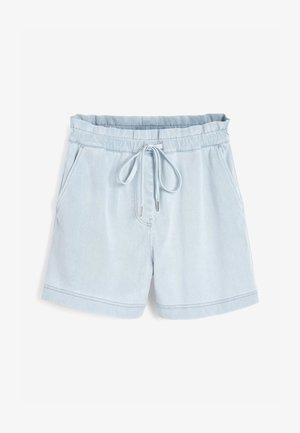 RUN  - Denim shorts - bleached denim