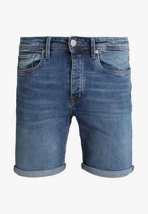 SHNALEX - Farkkushortsit - medium blue denim