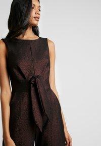 Closet - TIE FRONT - Tuta jumpsuit - rose gold - 4