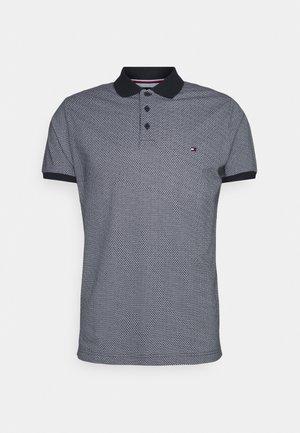 MICRO PRINT SLIM - Polo shirt - desert sky/white